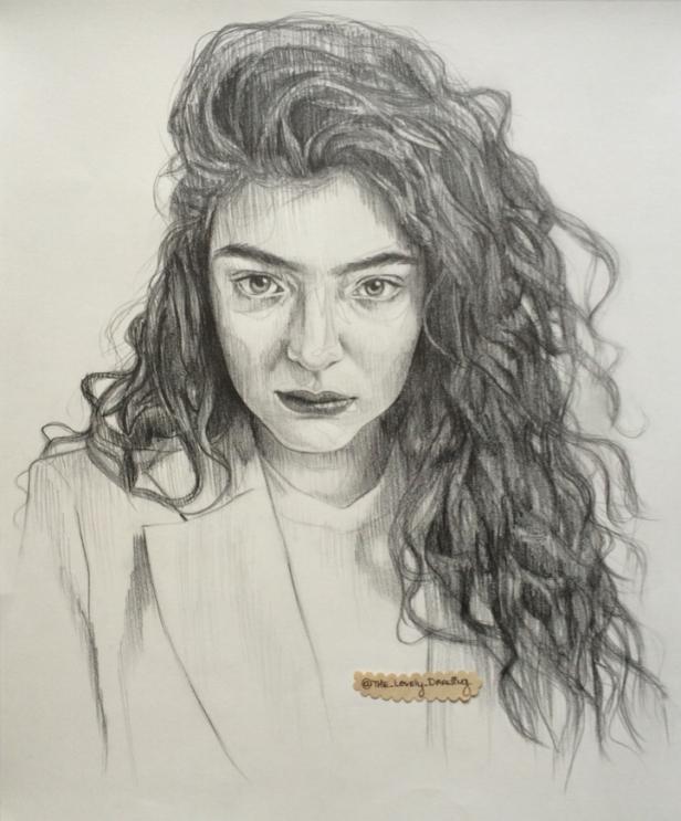 Lorde, graphite