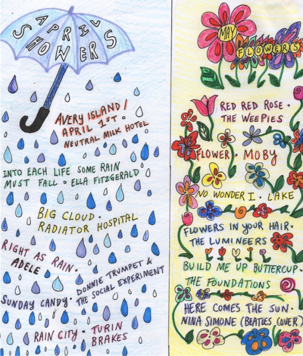 april showers LILY GOLDBERG