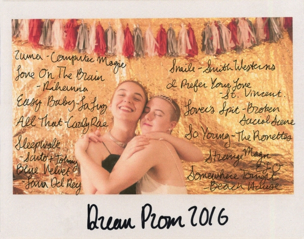 prom playlist photo
